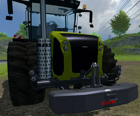 Claas Xerion Weight v 1.0