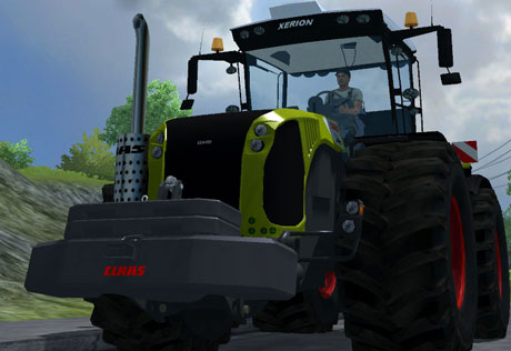 Claas Xerion Weight v 1.1
