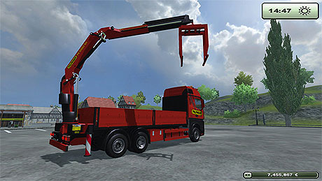 Palfinger PK 34002 SH v 1.0 in Farming Simulator 2013 Trucks And Cars