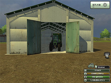 Shed With Automatic Doors