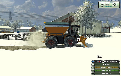 Claas 3800 SaddleTrac Winter And Local v 1.1