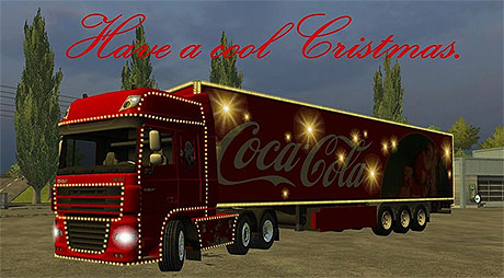 Coca Cola Trailer Truck v 1.0   LS 2013 mods