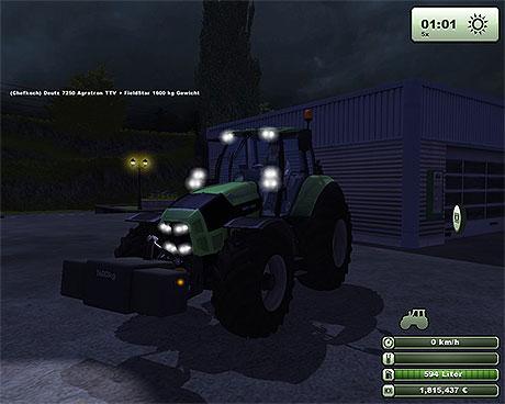 Field Star W1600 Gewicht v 1.1