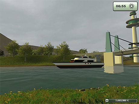 Motor Yacht v 1.0 Farming Simulator 2013 | GameMods15 - Euro Truck