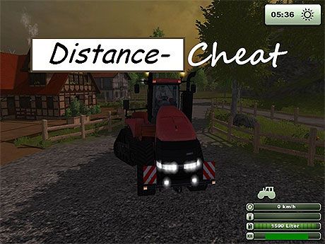 Travel Distance Cheat v 2.3