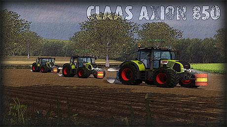 Claas Axion 850 v 2.0
