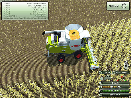 Claas Lexion 770 v 2.0 Pack In Standard Farbe