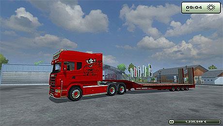 Scania Longline Red