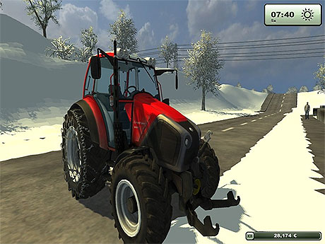 Lindner Geotrac 94 With Chains v 1.0