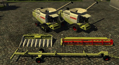 Claas Lexion 600 Package v 1.0