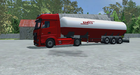 Mercedes Actros MP4 v 1.0