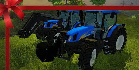 New Holland TS135A Pack v 1.0