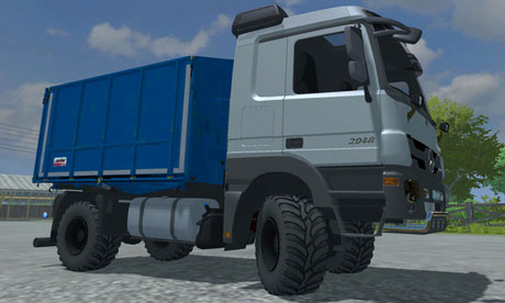Mercedes Benz Actros MP3 v 3.0