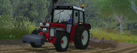 Case IH 844 SA With Hydraulic Front v 3.1
