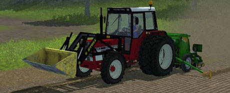 Case IH 844 SA With Industry Stool Loader v 3.1