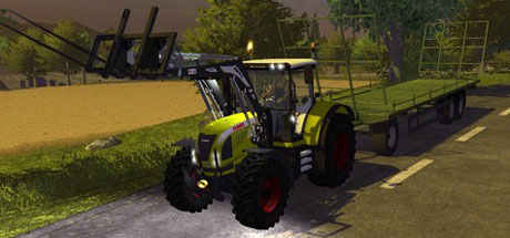 Claas Arion With Sigma 4 Frontlader v 1.2