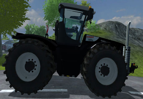 Claas Xerion 5000 Blackline Edition v 2.0 Final