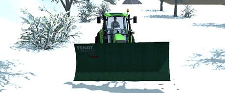 Fendt Schnneeschild Snow v 1.1