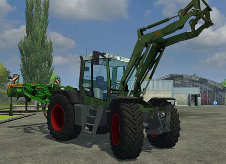 Fendt Xylon 524 v 3.0 With Fendt Cargo Loader