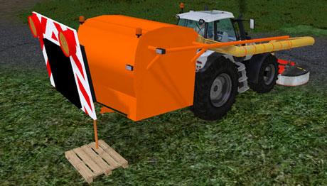 Grass Collector Municipal v 2.0 | LS 2013 mods