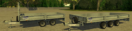 ifor-williams-flatbed-trailers