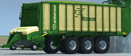 Krone ZX 550D v 1.0