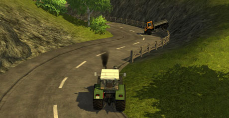 Mercedes Benz Unimog 1450 Vehicle Traffic v 1.0