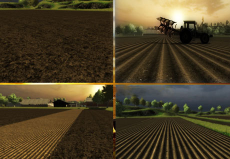 New Ground Textures Final Potato Cultivator Plow Seed Ls 2013 Mods