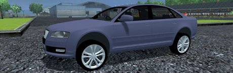 Audi A8 Trafic v 1.0