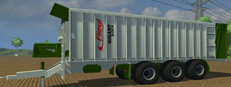 Fliegl Gigant ASW 370 Green v 1.1