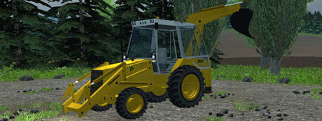 JCB 3CX Backhoe v 2.1