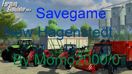 Savegame New Hagenstedt Map
