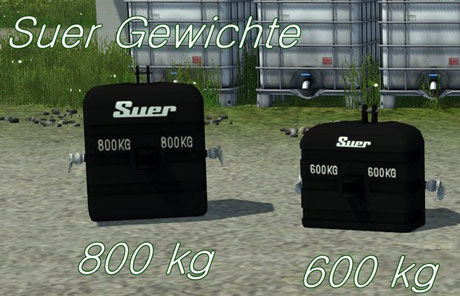 Suer Weight 600kg And 800kg v 1.0