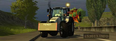 Fendt Weight 2500KG v 2.1