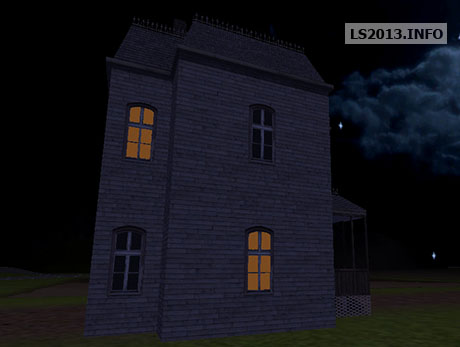 Bates House With Night Light v 1.0