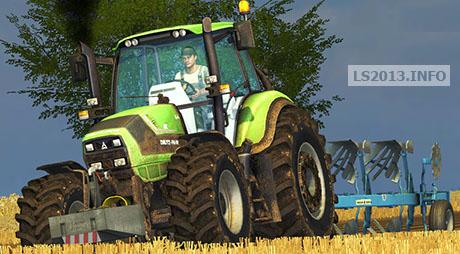 Deutz TTV 6190 v 3.2 Sigma FL Ploughing Spec