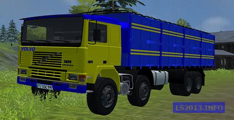 Volvo F12 8×4 v 1.1