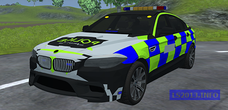BMW 5 Series Police v 1.0