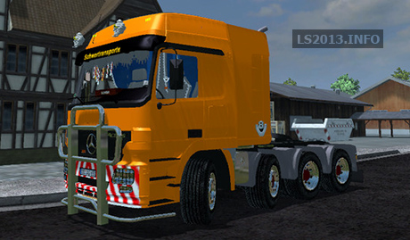 Mercedes Benz Actros Heavy v 1.0 BETA