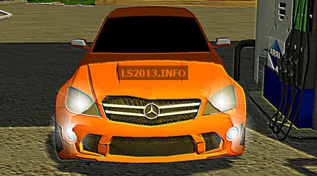 Mercedes Benz C63 AMG v 1.0