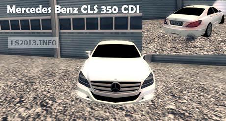 Mercedes Benz CLS 350 CDI v 1.0
