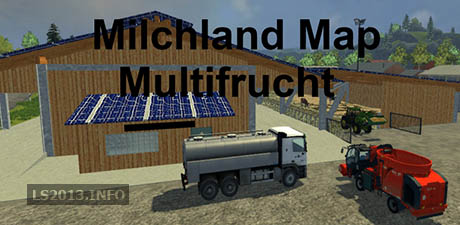 Dairy Land Map Multifrucht v 1.5 Without Rotting