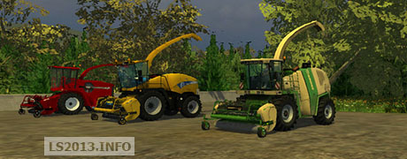 New Holland and Case PU 380 300 FP v 1.1