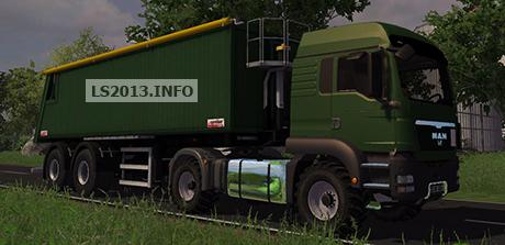 MAN TGS Agricultural v 2.0 With Agroliner SMK 34