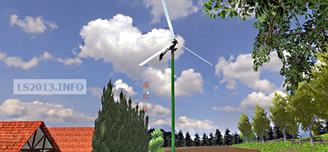 Small wind turbine 12KW