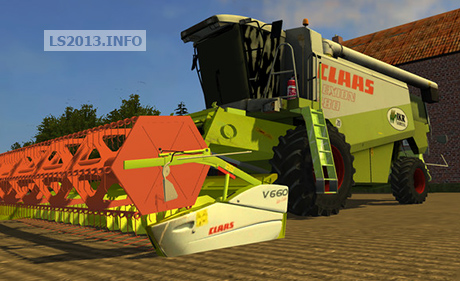 Claas Lexion 480 and Claas Vario 660 v 2.0