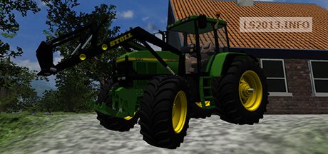 John Deere 7710 With Stoll Loader