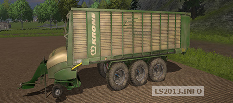 Krone ZX550 GD Pack v 1.0