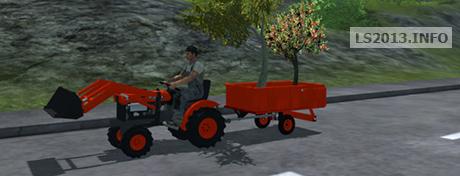 Kubota Mini Tractor v 1.0
