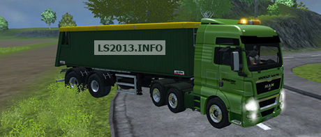 MAN TGX 18680 TURBO 6X6 v 3.1